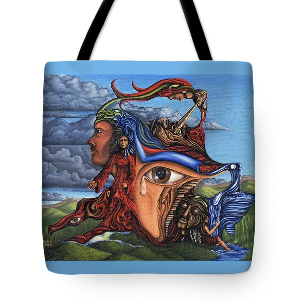 The Aftermath Tote Bag by Karen Musick