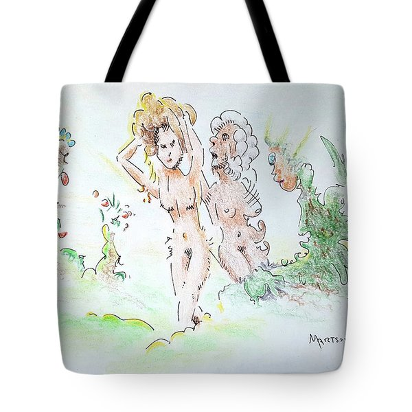 The Age Of Beauty Tote Bag