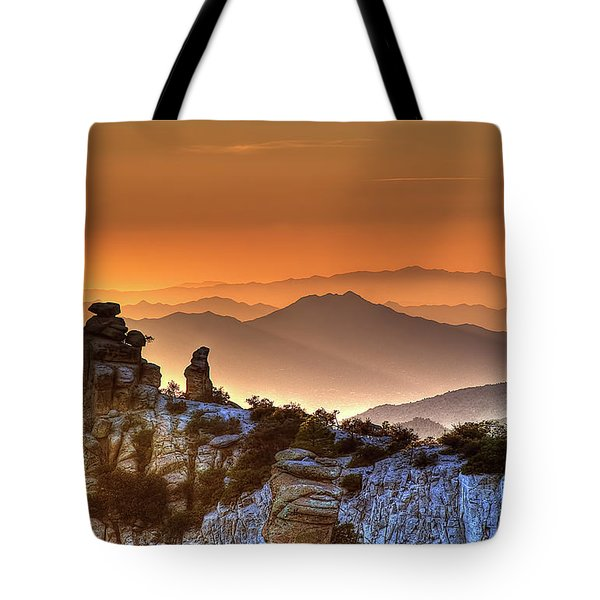 The Ahh Moment Tote Bag by Lynn Geoffroy