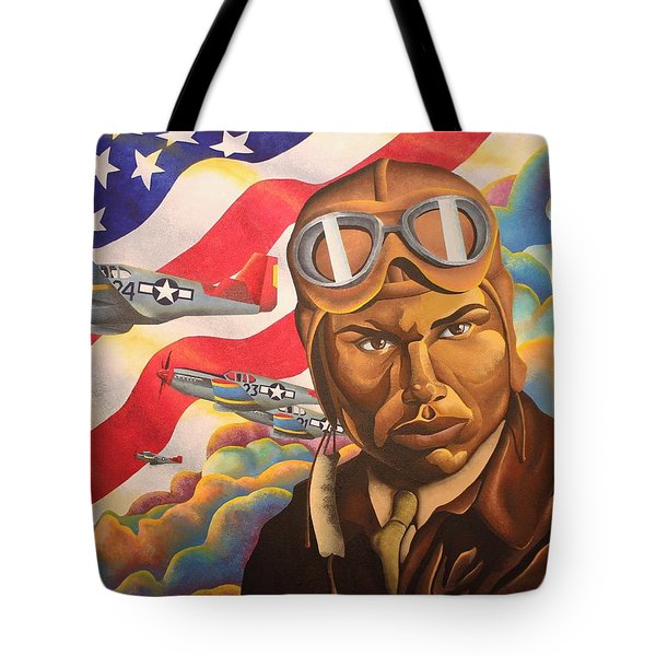 The Airman Tote Bag by William Roby