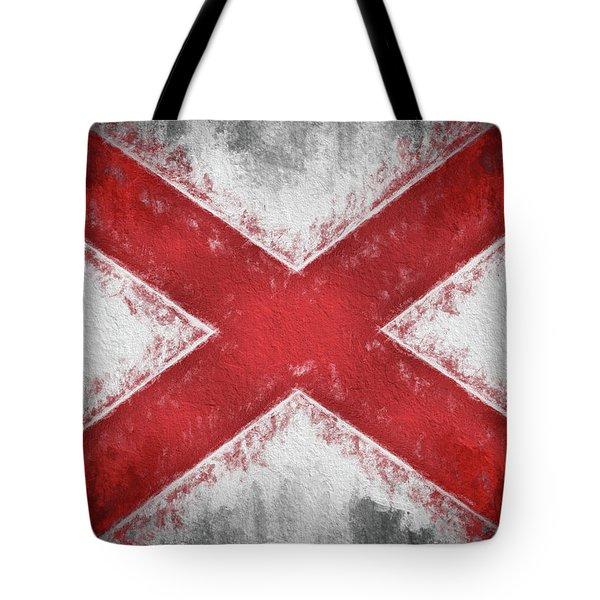 The Alabama Flag Tote Bag