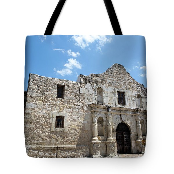 Tote Bag featuring the photograph The Alamo Texas by Steven Frame