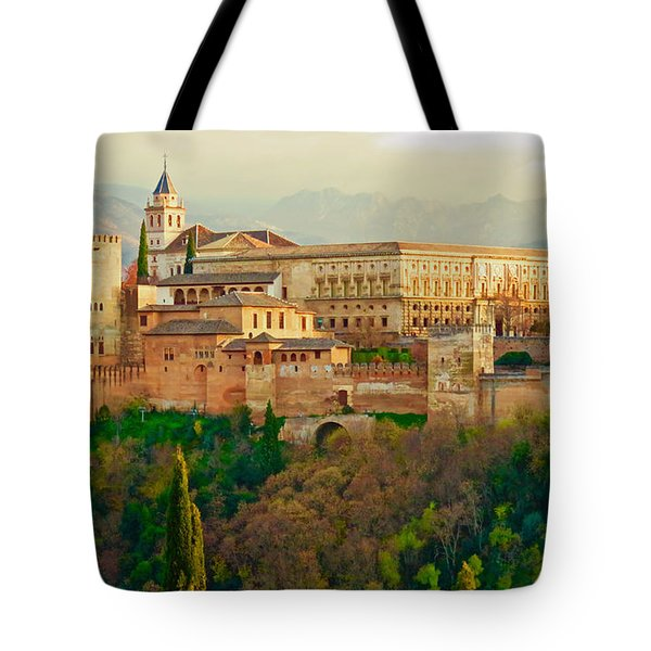 The Alhambra  Tote Bag by Rita Mueller