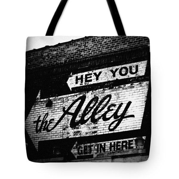 The Alley Chicago Tote Bag