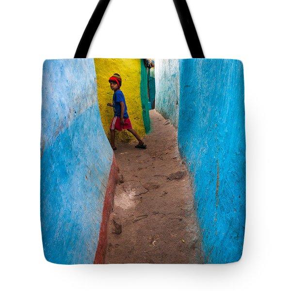 The Alleyway Tote Bag
