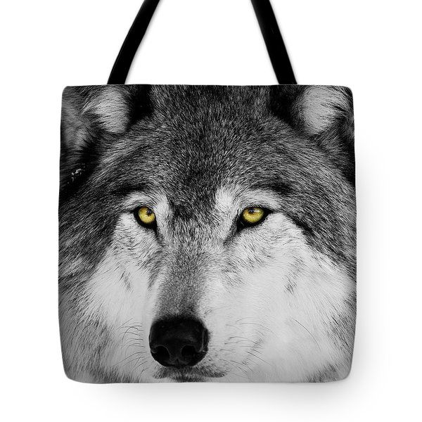 Tote Bag featuring the photograph The Alpha Portrait by Mircea Costina Photography