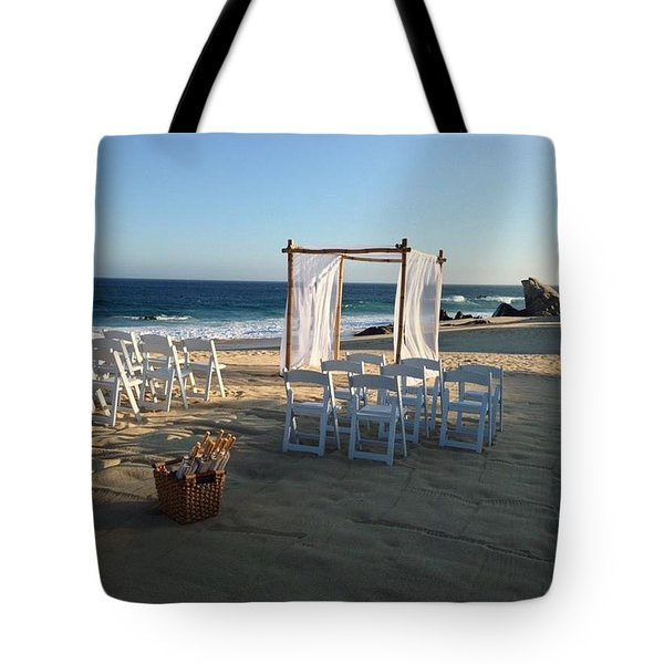 The Alter By The Sea Tote Bag