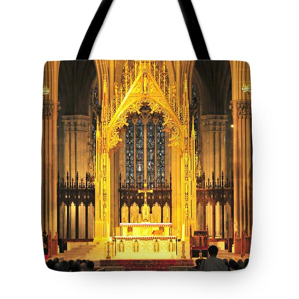 Tote Bag featuring the photograph The Alter by Diana Angstadt