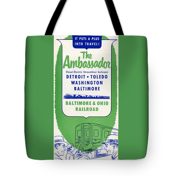 The Ambassador Tote Bag