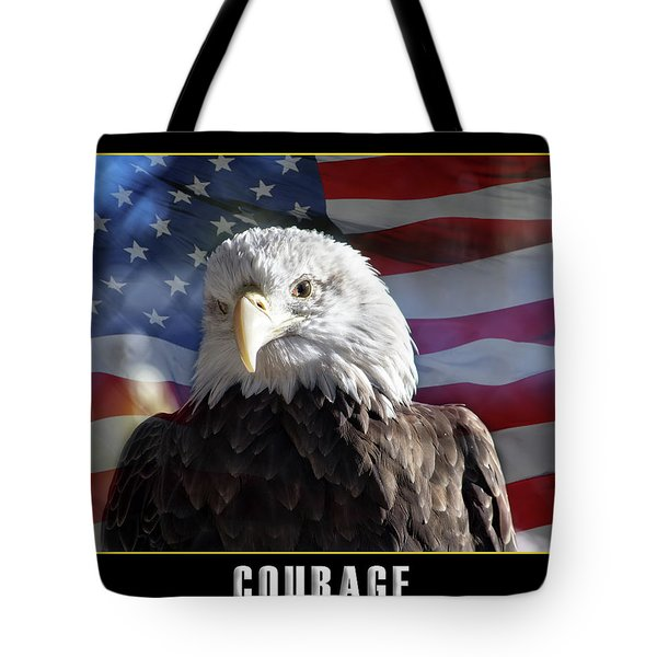 The American Bald Eagle Tote Bag