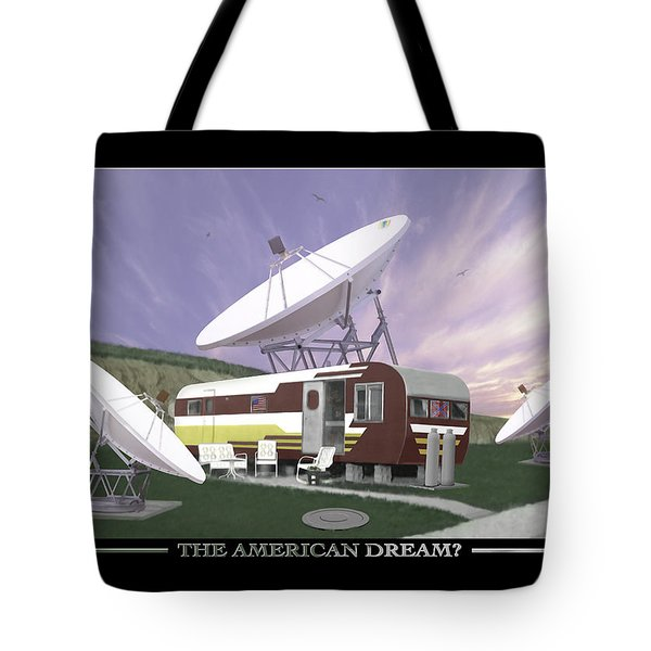 The American Dream Tote Bag by Mike McGlothlen