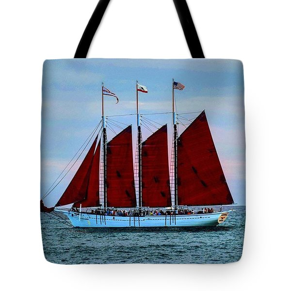The American Pride At Sunset Tote Bag
