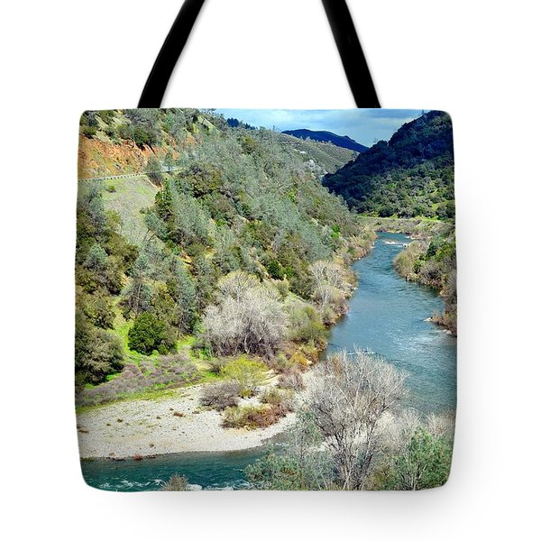 The American River Tote Bag
