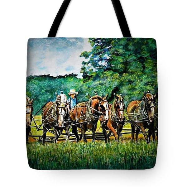 The Amish Team Tote Bag