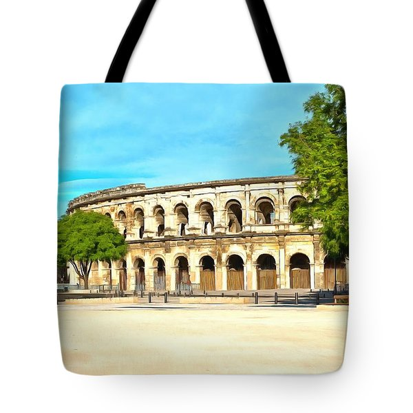The Amphitheatre Nimes Tote Bag
