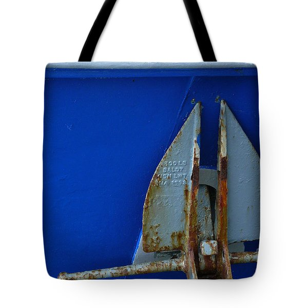 The Anchor Tote Bag by Jeff Breiman