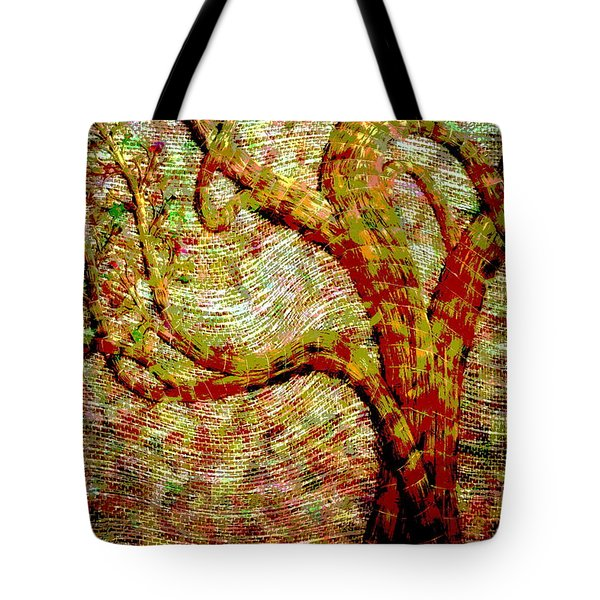 The Ancient Tree Of Wisdom Tote Bag