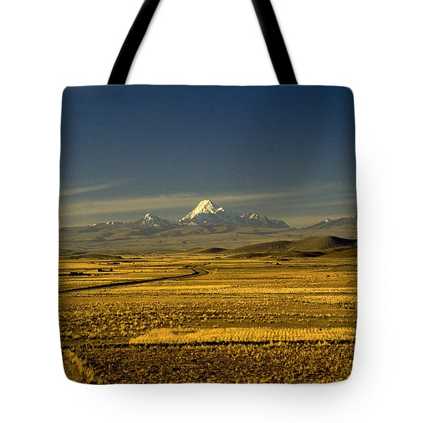 The Andes Tote Bag