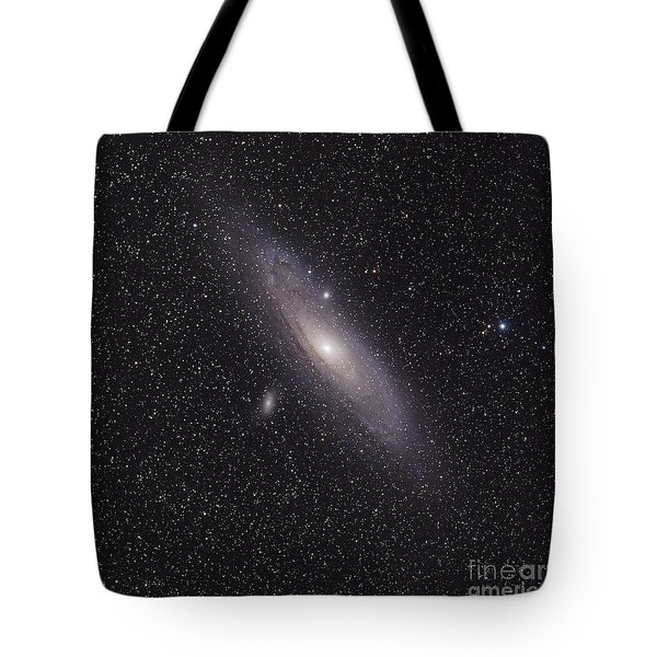 The Andromeda Galaxy Tote Bag by Phillip Jones