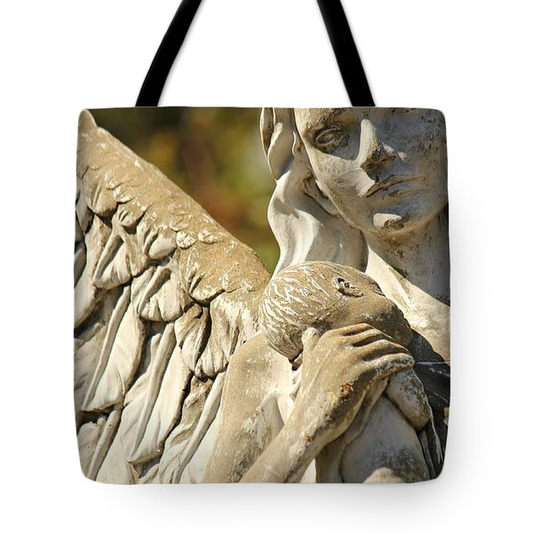 The Angel At St. Thomas Tote Bag