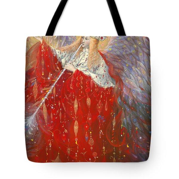 The Angel Of Life Tote Bag by Annael Anelia Pavlova