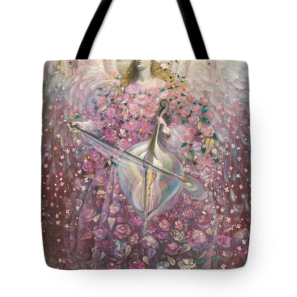 The Angel Of Love Tote Bag by Annael Anelia Pavlova