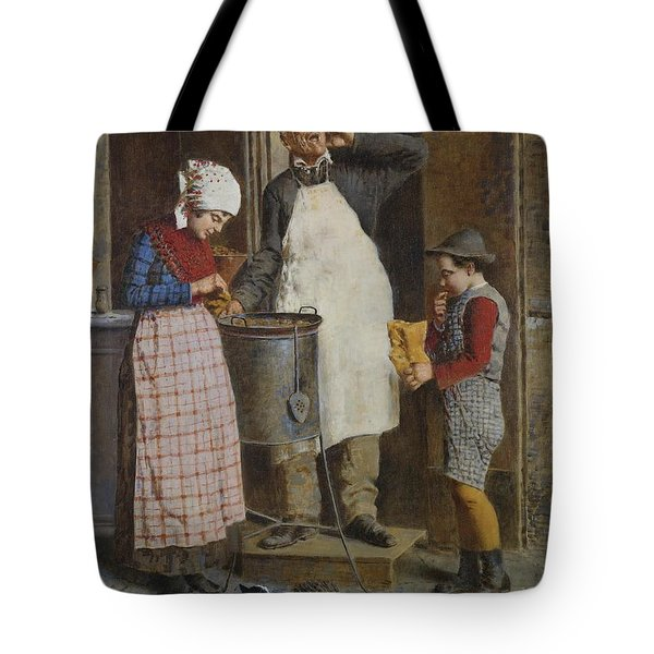 The Angel Of Mercy Tote Bag