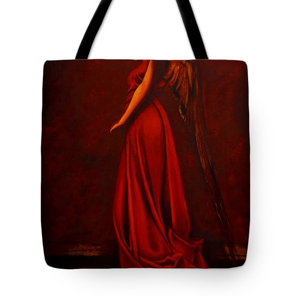 The Angel Of Love Tote Bag