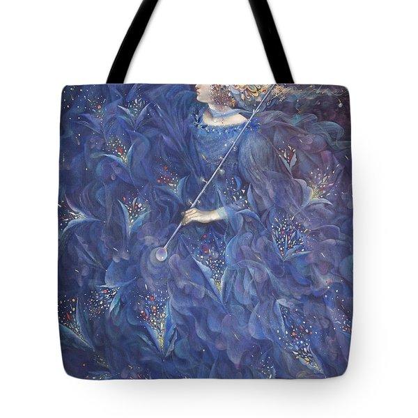 The Angel Of Power Tote Bag by Annael Anelia Pavlova