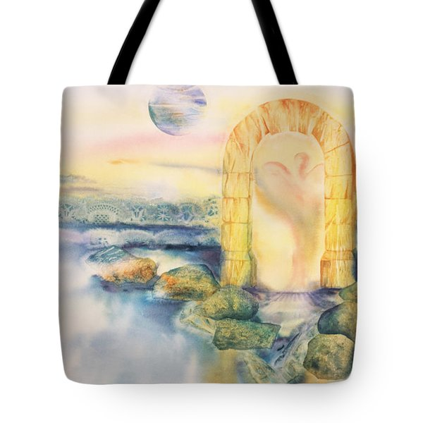 The Angel Within Tote Bag by Tara Moorman