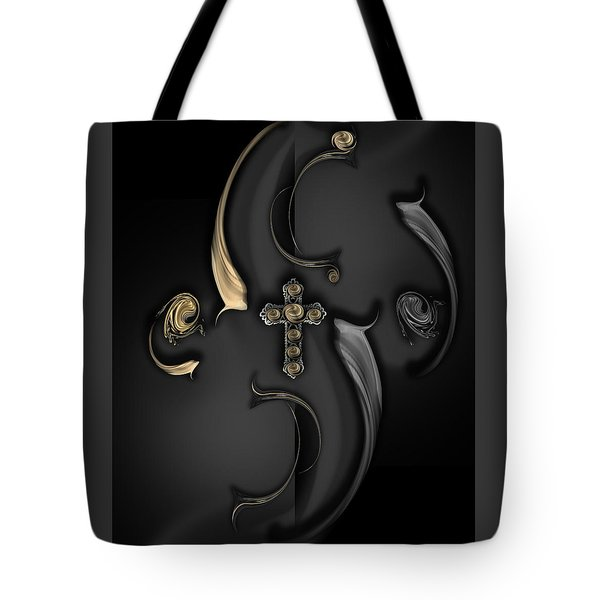 The Angelic Poem Tote Bag