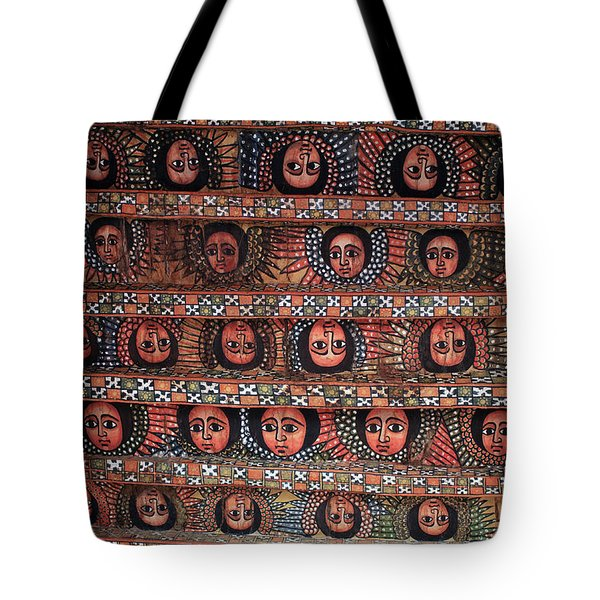 The Angels Of Debre Birhan Selassie Church Tote Bag