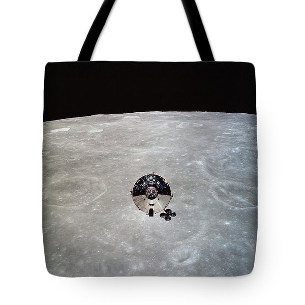 The Apollo 10 Command And Service Tote Bag by Stocktrek Images