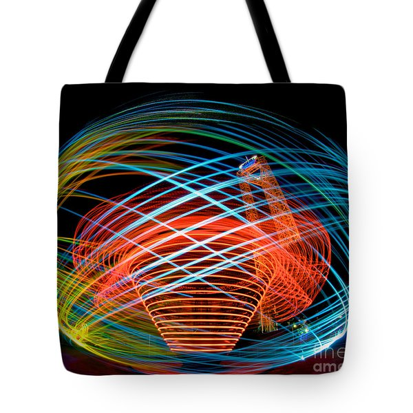 Tote Bag featuring the photograph The Apollo At Dorney Park by Mark Miller