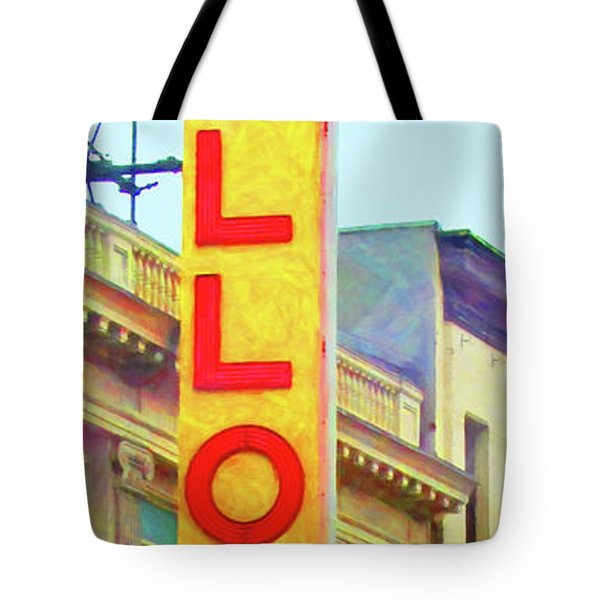The Apollo Theater In Harlem Neighborhood Of Manhattan New York City 20180501 Tote Bag