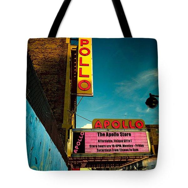 The Apollo Theater Tote Bag by Ben Lieberman