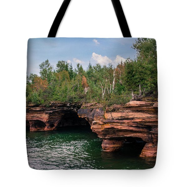 The Apostle Islands Tote Bag by Deborah Klubertanz