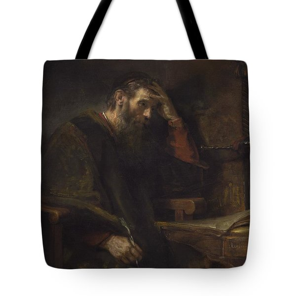 The Apostle Paul Tote Bag