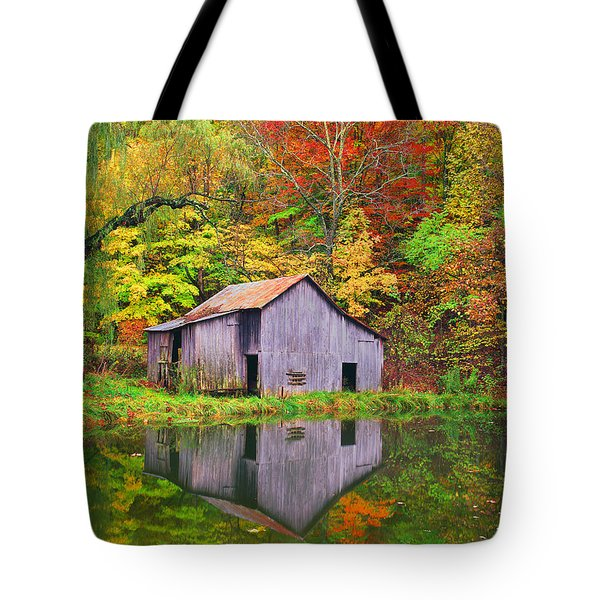 The Appalachian Reflection Tote Bag