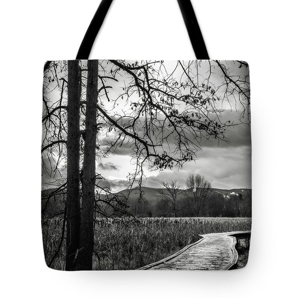 The Appalachian Trail Tote Bag by Eduard Moldoveanu