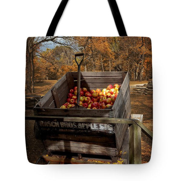 The Apple Bin Tote Bag