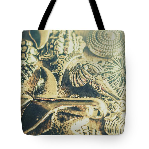 The Aquatic Abstraction Tote Bag