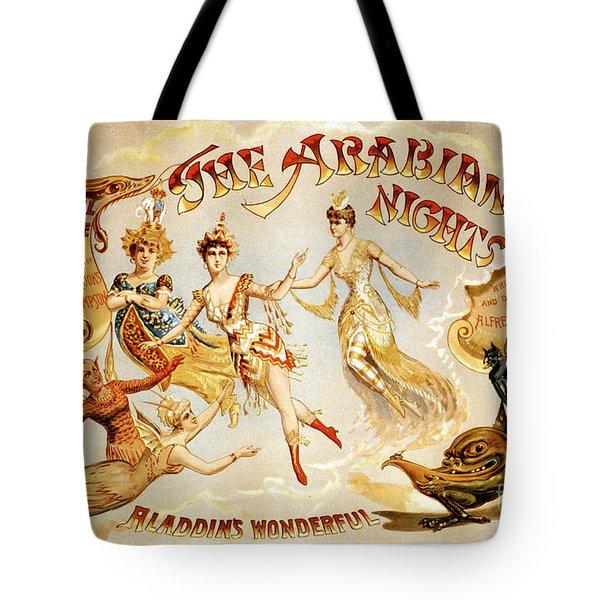 The Arabian Nights Burlesque Tote Bag