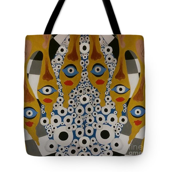 The Arch Of The Eye Tote Bag