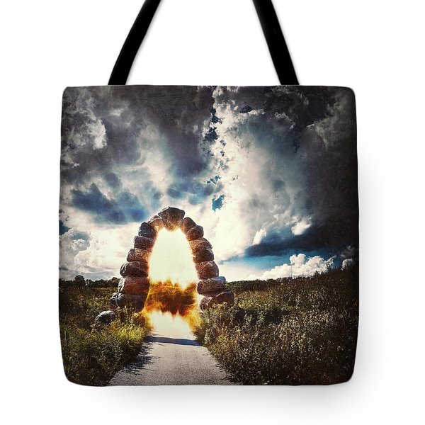 The Arch On The Edge Of Forever Tote Bag