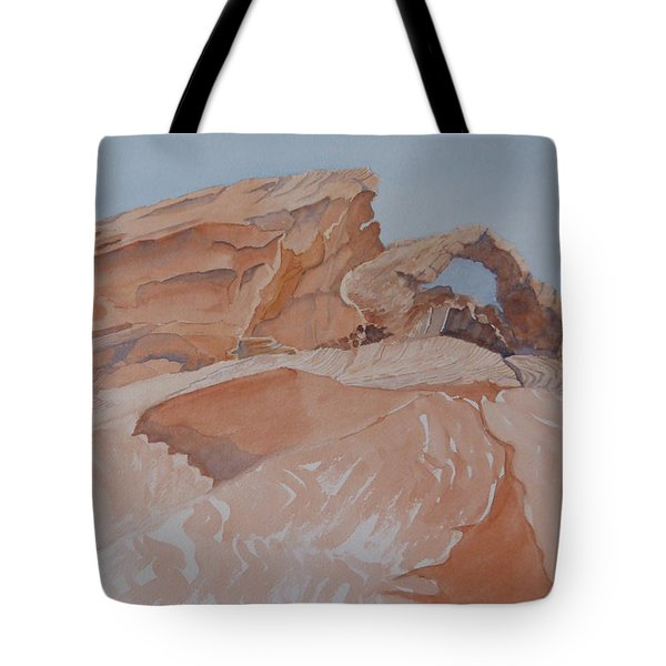 The Arch Rock Experiment - Vii Tote Bag
