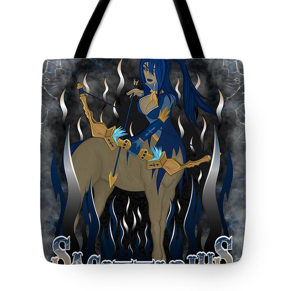 The Archer Sagittarius Spirit Tote Bag