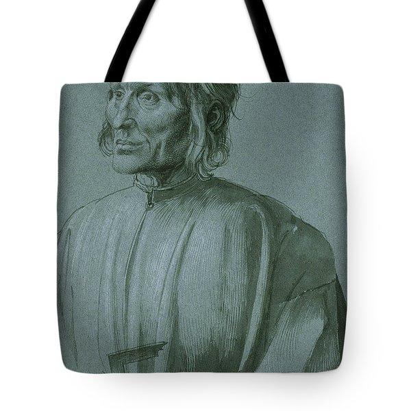 The Architect Hieronymus Von Augsburg Tote Bag