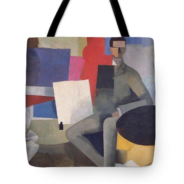 The Architect Tote Bag by Roger de La Fresnaye