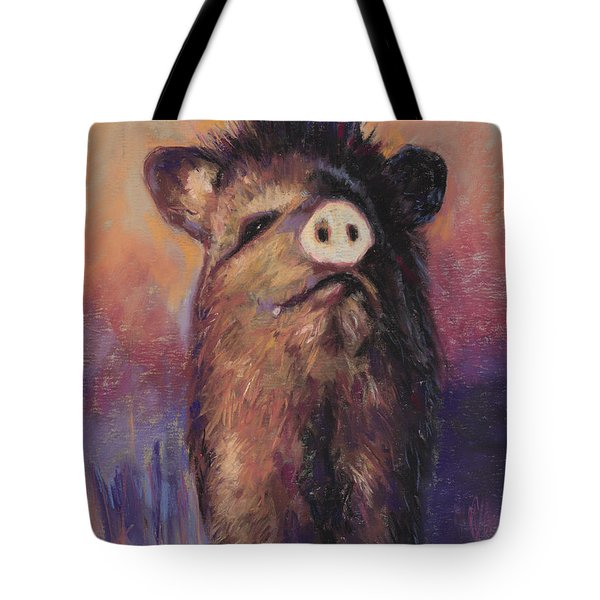 The Aristocrat Tote Bag by Billie Colson